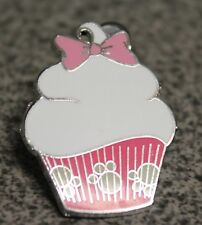 DISNEY PIN CUPCAKE MARIE 82954 THE ARISTOCATS 1 OF 7 PINK WRAPPER AND PAW PRINTS