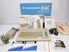 Commodore 64C Personal Computer In Box Complete