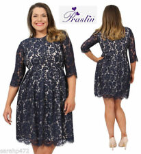 Lace Cotton/Polyester Dresses for Women