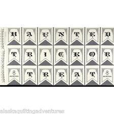 "FABRIC Moda ~ HAUNTED GALA ~ The Comstocks  (37110 11) PANEL 24"" x 45"""