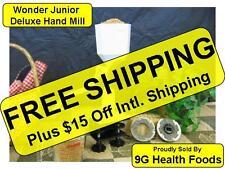 Wonder Junior Hand Mill  WonderMill WhisperMill Whisper