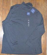 Croft & Barrow Classic Turtleneck Long Sleeve Gray Shirt Size XXL