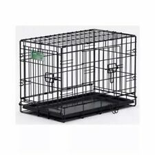 "Midwest Dog Double Door i-Crate Black 18"" x 12"" x 14"" I-1518DD"