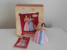 HALLMARK KEEPSAKE 2004 BARBIE AS THE PRINCESS AND THE PAUPER CHRISTMAS ORNAMENT