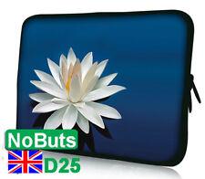 """Flor de BD D25 10"""", 10.1"""", 10.2"""" Tablet Ipad Notebook Sleeve suave caso vendedor del Reino Unido"""