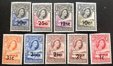 Bechuanaland 1961 9 X Stamps Mint Hinged