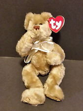 "1993 Ty Plush 8"" Beverly the Bear"