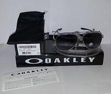 Oakley ELMONT SUNGLASSES M POLISHED CHROME / GREY GRADIENT POLARIZED OO4119-0258