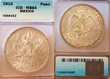 Uncirculated ICG Certified Mexican Coins
