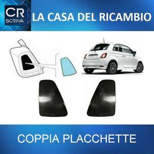 COPPIA PLACCHETTE MODANATURE FANALI POSTERIORI DX/SX ORIGINALI FIAT 500 DAL 2015