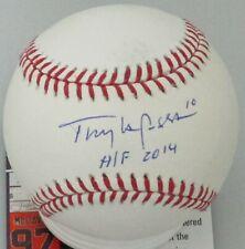 """Cardinals TONY LARUSSA Signed Official MLB Baseball AUTO w/ """"HOF 2014"""" - JSA"""