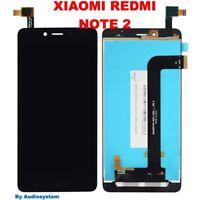 DISPLAY LCD +TOUCH SCREEN per XIAOMI REDMI NOTE 2 NERO VETRO SCHERMO NUOVO