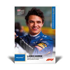 13k+FB No Cancellations - Lando Norris - 2021 Topps Now Formula 1 F1 - Card #5