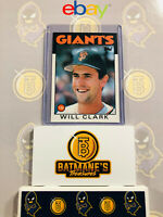 1986 Topps Traded Will Clark #24T RC Rookie NM/M MINT Baseball Card