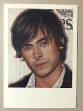 RICHARD PHILLIPS, ZAC EFRON, private view invitation card, 2011