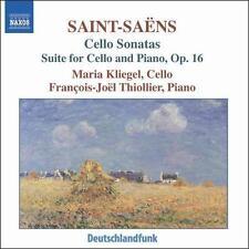 Saint-Sa‰ns: Cello Sonatas; Suite for Cello and Piano, Op. 16 (CD, Jan-2007,...