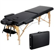 Massage Table Portable Easy to Carry Adjustable Foldable for Spa Salon or Tattoo