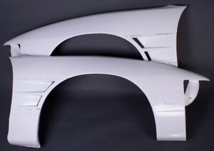 SRB POWER +20mm VENTED FRONT FENDERS / WINGS FOR 200SX S13 180SX