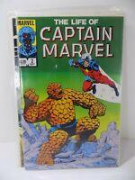 The Life of CAPTAIN MARVEL #2 1985 vintage Marvel Comics Comic Book VF+ Original