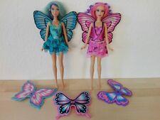 Barbie Rayna und Rayla Set Mariposa Freundin Fee Elfe Schmetterling Flügel