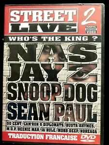 DVD - STEET LIVE 2 - Fabolous, 50 Cent + de 2 heures de live - NEUF EMBALLE