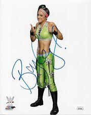 BAYLEY WWE DIVA SIGNED AUTOGRAPH 8X10 PHOTO #3 W/ JSA COA