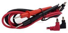 1 Paar Messkabel für digitale Multimeter, Prüfkabelsatz Kabel #830