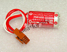 MAXELL ER17/33(2/3A 3.6V) 1600mah PLC Battery for Omron 3G2A9-BAT08 #T3046 YS