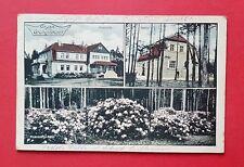 AK GRÜNGRÄBCHEN bei Kamenz Schwepnitz 1913 Moorhütte, Kontor ( 36638