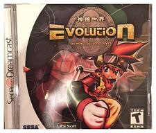 Evolution: The World of Sacred Device (Sega Dreamcast) BRAND NEW SEALED - NICE