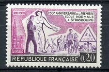 TIMBRE FRANCE NEUF N° 1254 ** ECOLE NORMALE DE STRASBOURG