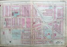 1910 Philadelphia Pa Squirell Hill Lincoln Theatre Comegys School Atlas Map
