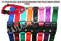 "3/4"" Nylon Dog Fence Collar Receiver Replacement Strap PUL-250, PUL-275 PRF-275"
