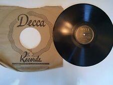 "Decca Records Bing Crosby ""Birth Of The Blues"" 10 inch DLA 2412"