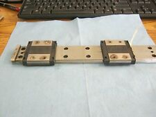 "THK Model: RSR15W  LM Blocks  (2) on 11 5/8""   Rail <"
