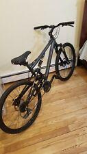 "Gravity Fsx 1.0 Aluminum Full Suspension Mountain Bike 19"" Black Shimano"