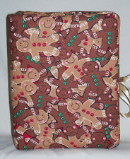"""Christmas Gingerbread Cookies Glittered Handcrafted Photo Album Holds 80 4""""X6"""""""