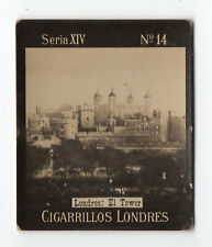 1900s Uruguay Photo Tobacco Card - Cigarrillos Londres S14 #14 Tower of London