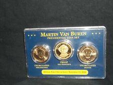 2008 Presidential gold dollar coin set Martin Van Buren (S proof) (D P uncir)