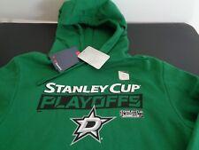 DALLAS STARS Hockey 2019 Stanley Cup Playoffs L Hoodie NEW Sweatshirt Fanatics