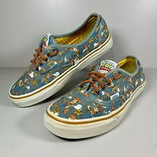 Women's VANS X Disney Pixar Toy Story Woody Skateboard Shoes Size UK 6