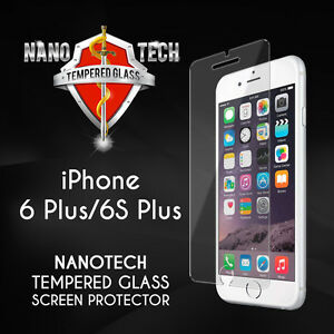 Nanotech Apple iPhone 6 Plus/6S Plus Tempered Glass Screen Protector