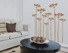 Flower Stalks - highest quality wall decal stickers