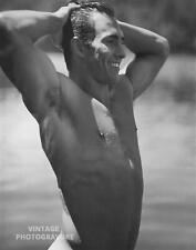 1990 Vintage BRUCE WEBER matted14X11 Photo Gravure JOHN Adirondack Male Nude