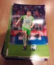 Signiertes Foto Paul Verhaegh VfL Wolfsburg  NEU 20x30cm