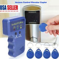 Handheld 125KHz RFID Duplicator Key Copier Reader Writer ID Card Cloner &keys US