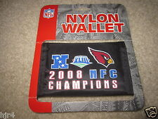 Arizona Cardinals 2008 NFC Champions Super Bowl 43 Wallet New