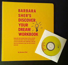 BARBARA SHER ~ Discover Your Dream Course Workbook & Audio CD ~ NEW