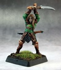Vale Swordsman Reaper Miniatures Warlord Elf Elves Ranger Archer Fighter Melee
