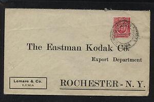 Peru  cover  to   Eastman  Kodak   Co        HR1215